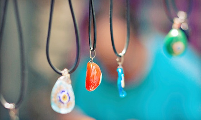 Smashing Times - North Dallas: 90-Minute Pendant-Making Class for One or Two at Smashing Times (Half Off)