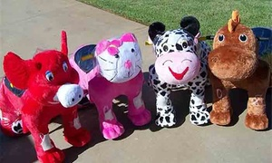 Safari Animal Rides: 45 Minutes of Walking-Stuffed-Animal Safari Rides with One or Two Animals from Safari Animal Rides (Up to 60% Off)