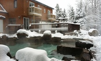 Spa Package with Skiing, Horseback Riding or Table d'Hôte Meal for Two at Auberge & Spa Beaux Rêves (Up to 56% Off)