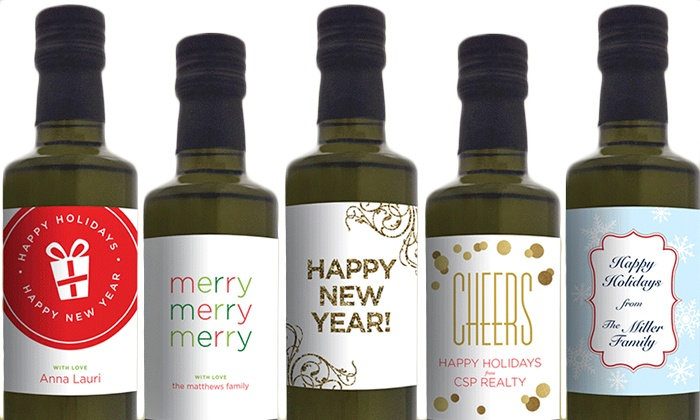 My Olive Press: Olive Oil with Custom Labels from My Olive Press (Up to 55% Off). Two Options Available.