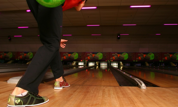 Farmington Lanes - Farmington: Three Games of Bowling, Shoe Rentals, and Soda for Two, Four, or Six at Farmington Lanes (Up to 68% Off)