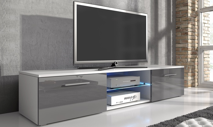 Samuel TV Cabinet with LED Lighting
