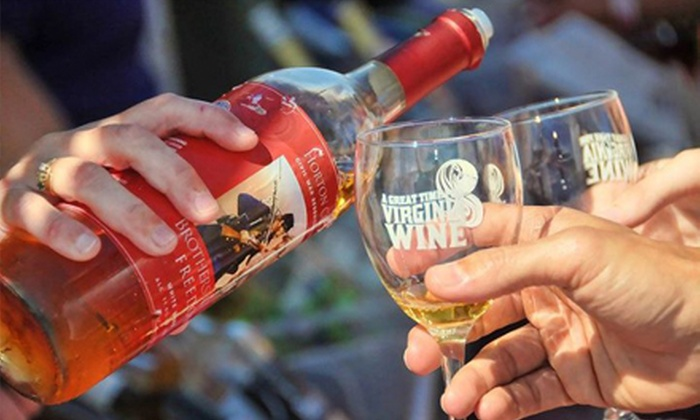 Virginia Wine Festival - Scott: Admission for One or Two to the Virginia Wine Festival at Great Meadow on September 14–15 (Half Off)