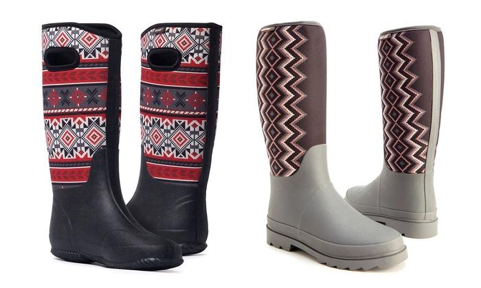MUK LUKS Karen Rain Boot (Women's)