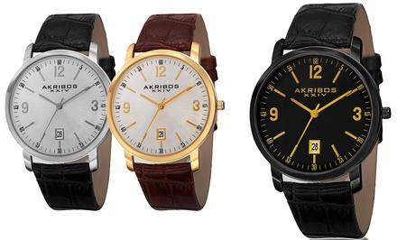 Akribos XXIV AK780 Men's Swiss Watch