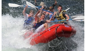 H2O Adventures: Half- or Full-Day Rafting Trip for Two or Four from H2O Adventures (Up to 39% Off)