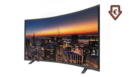 TV LED HD Icarius Incurvée, HDMI, USB, 16 Watts, de 32, 39 ou 49' incurvée avec garantie 2 ans, livraison offerte