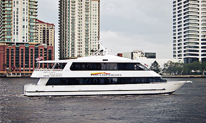 Foxylady Cruises - Jacksonville: $24.95 for a Cocktail Cruise for Two on August 30, September 7, or September 13 from Foxylady Cruises ($49.90 Value)