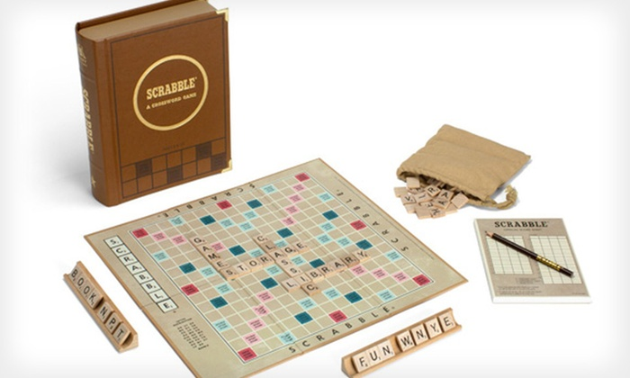 Library Classic-Edition Board Games: $25 for a Clue, Monopoly, or Scrabble Library Classic-Edition Board Game ($59.99 List Price)
