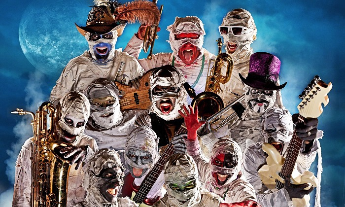 Here Come the Mummies - Mercury Ballroom: Here Come the Mummies on Friday, February 12, at 8:30 p.m.