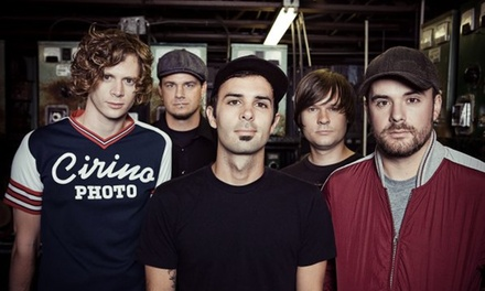 Relient K at Bogart's on Friday, October 31, at 7:30 p.m. (Up to 51% Off)