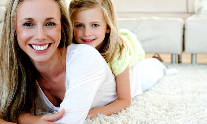 #1 Carpet Cleaning and Air Duct Cleaning - Centennial: $75 for Carpet Cleaning and Dryer-Vent Cleaning from #1 Carpet Cleaning and Air Duct Cleaning ($195 Value)