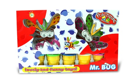Mr. Bug - ערכה להרכבת חרקים מפלסטלינה, שתספק שעות של הנאה לילדים, ב-35 ₪ בלבד