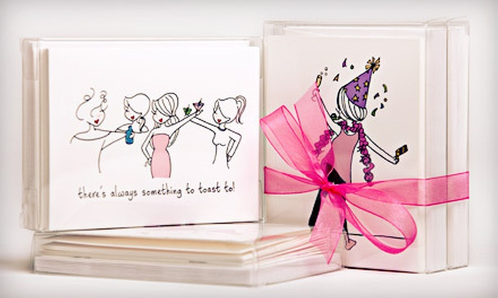 philoSophie's - Maplewood: $22 for Box Set of 20 Pre-Selected Greeting Cards from philoSophie's in Spencerport ($60 Value)