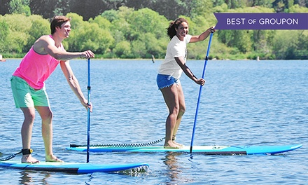 One-Hour Standup-Paddleboard Rental for One, Two, or Four from Northwest Paddle Surfers (Up to 50% Off)