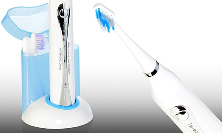 Advanced Ultrasonic Toothbrush with Optional UV Sanitizer from $49.99–$59.99