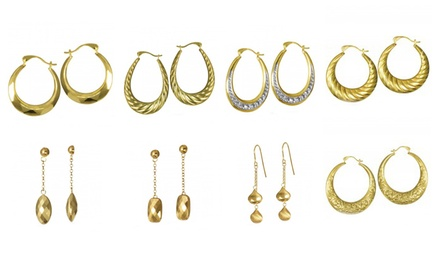 Earrings from Samuels Jewelers (78% Off). Eight Options Available.