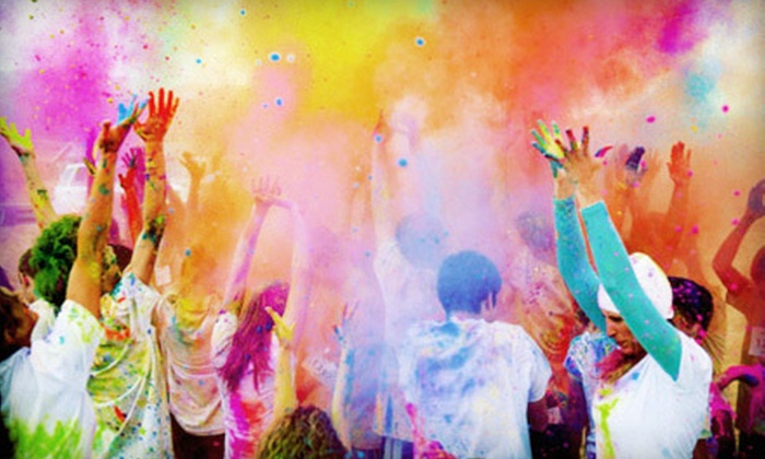 Color Me Rad: $17 for a 5K Race Entry to Color Me Rad on Saturday, May 26 ($35 Value)