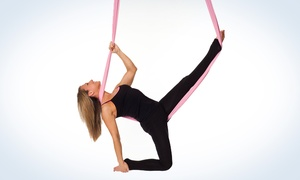 Rising Goddess Fitness: One or Three Aerial and Ground Fitness Classes for Women from Rising Goddess Fitness (Up to 72% Off)