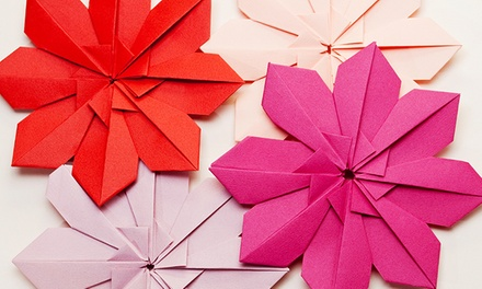 Bring the whole family to enjoy a mesmerizing origami demonstration and lesson at a Park Slope origami studio