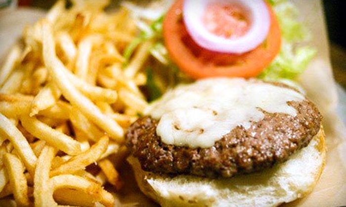 Black Iron Burger Shop - East Village: $19 for Burger Meal for Two with Sides and Beer at Black Iron Burger Shop (Up to $42 Value)