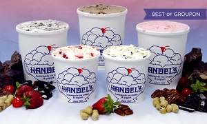 Handel's Homemade Ice Cream & Yogurt: $12 for Ice Cream and Yogurt at Handel's Homemade Ice Cream & Yogurt ($20 Total Value)