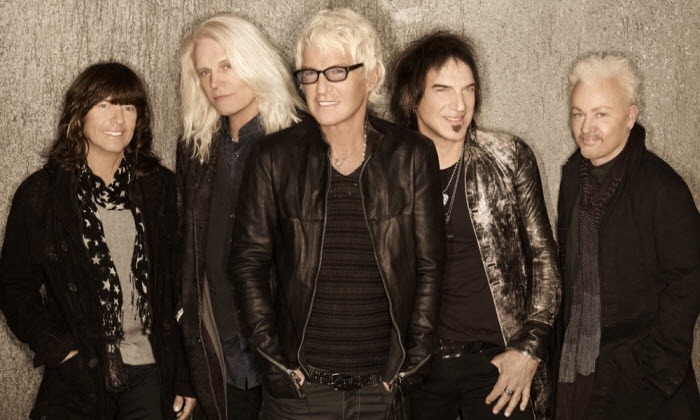 REO Speedwagon and Chicago - Verizon Wireless Amphitheater St Louis: REO Speedwagon and Chicago at Verizon Wireless Amphitheater St. Louis on Friday, August 8 (Up to 54% Off)
