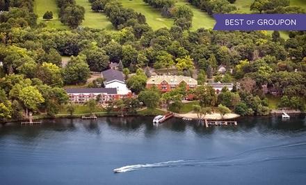 Spa Resort on Wisconsin's Green Lake