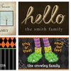 Up to 50% Off Personalized Doormats