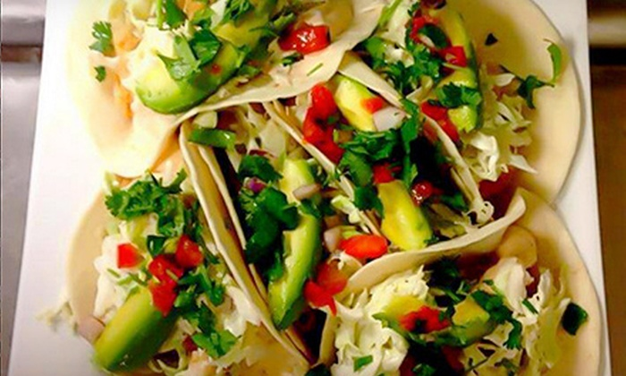Park Tavern - Park Tavern: Private Cabana with Southwest Tacos for Two or Four at Park Tavern (Up to 56% Off)