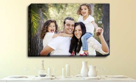 Custom Photo Canvas from PrinterPix. Multiple Sizes Available from $25.99–$69.99.