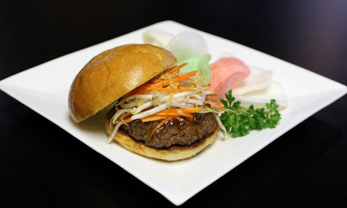 Nom Nom Burger - Madison Park: $15 for Two Groupons, Each Good for $15 Worth of Burgers and Fries at Nom Nom Burger ($30 Total Value)