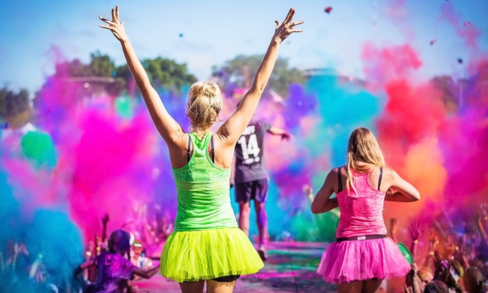 Holi Color Run - 10: 5K or 15K Holi Color Run Entry at Tranquility Manor Farms on Saturday, July 11 (Up to 50% Off)