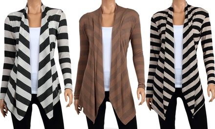 Hacci Women's Draped Cardigans