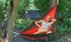 Equipped Outdoors 2-Person Parachute Hammock: Equipped Outdoors 2-Person Parachute Hammock