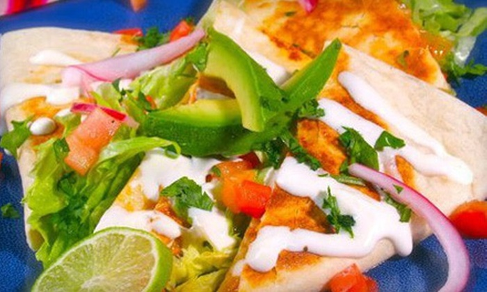 Costa Azul Mexican Restaurant - Fort Pierce: $25 Worth of Mexican Food
