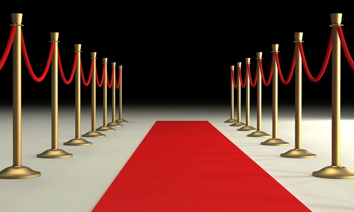 Purple Carpet Entertainment - East Orange: Purple Carpet with Step and Repeat Backdrop from Purple Carpet Entertainment (Up to 61% Off). Two Options Available.