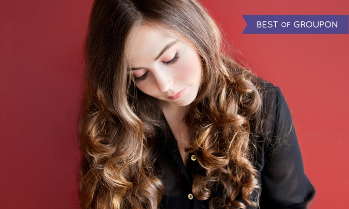 Anthony Robert Salon - Verona: Haircut and Wash with Optional Partial Highlights or Single-Process Color at Anthony Robert Salon (Up to 70% Off)