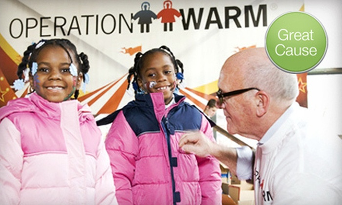 Operation Warm - Boston: $10 Donation to Help Purchase Kids' Winter Coats
