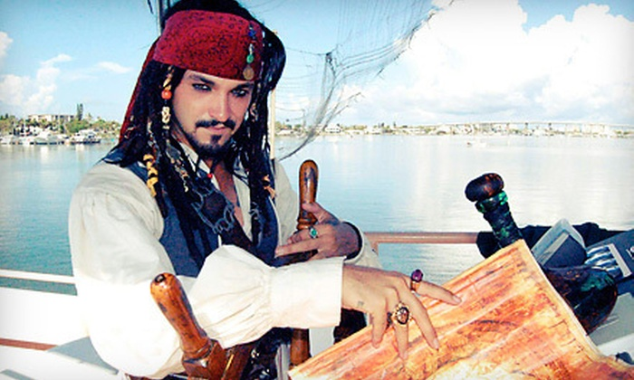 Pieces of Eight Pirate Cruise - Estero Island: $14 for a 90-Minute Pirate Cruise from Pieces of Eight Pirate Cruise (Up to $29.95 Value)