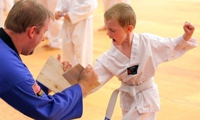 U.S. Taekwondo Center - Multiple Locations: Eight Basic Taekwondo Classes for One, Two, or a Family or Four at U.S. Taekwondo Center (Up to 90% Off)