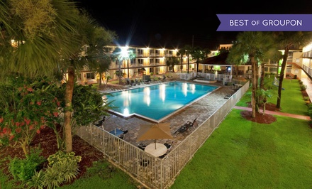 Stay at Roomba Inn & Suites Orlando/Kissimmee in Kissimmee, FL, with Dates into May