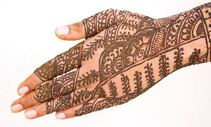 image for Henna Tattoos at Elegant Brows (Up to 51% Off). Three Options Available.
