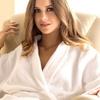 Women's Ultra-Plush Microfiber Bathrobe