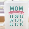 Up to 50% Off Personalized Coffee Mug from GiftsForYouNow.com