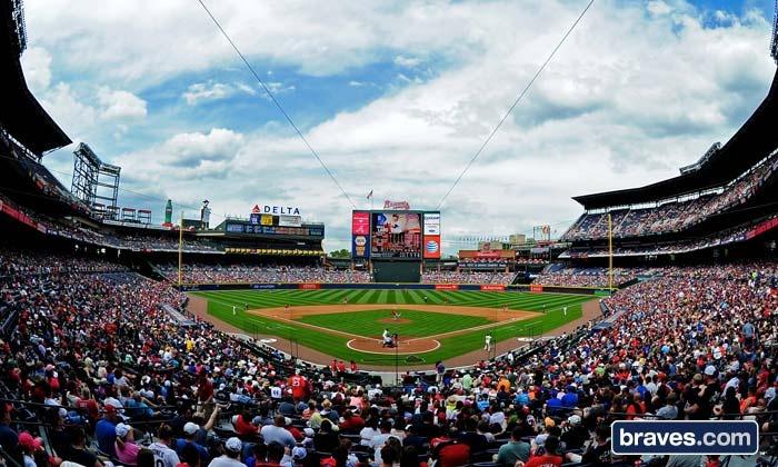 Atlanta Braves - Turner Field: Atlanta Braves Baseball Game at Turner Field (Up to Half Off). Six Games and Three Seating Options Available.