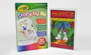 Crayola Story By Me Book-making Kit