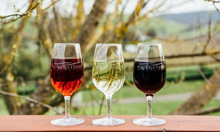 Cheese and Wine Experience with Wine to Take Home $59 or 4 $115 at Riverstone Estate Winery Up to $228 Value