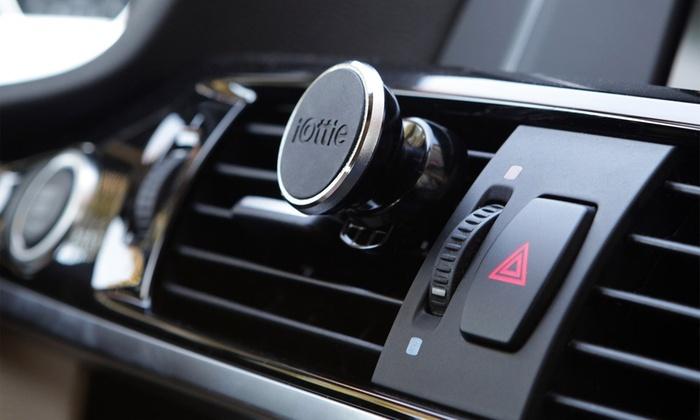IOttie ITap Magnetic Car Mount Groupon Goods - Audi iphone 6 car mount