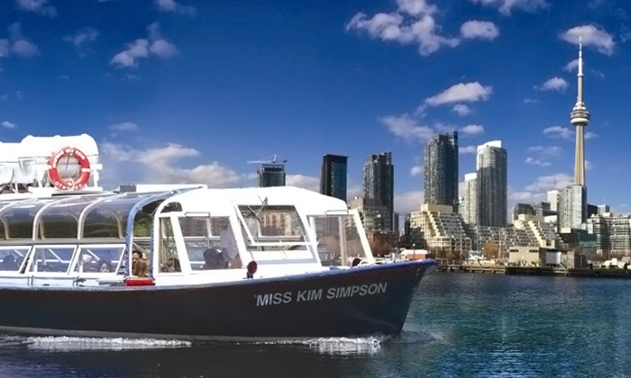 Toronto Harbour Tours - Downtown Toronto: C$11 for Boat Tour of Toronto Harbour and Islands from Toronto Harbour Tours (Up to C$28.20 Value)